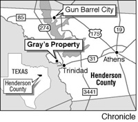 Map (from Houston Chronicle)